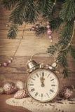 La decoración vieja del Año Nuevo Imagen de archivo