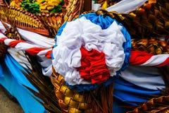 La decorazione all'aperto del tessuto Immagini Stock Libere da Diritti