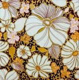 La decorazione di ceramica variopinta della parete Fotografia Stock