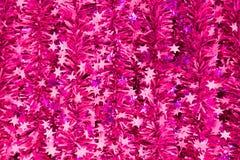 La decorazione di Violet New Year fotografie stock