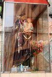 La dedicación a St Anthony y al bebé Jesús en Colombo, como f vista imagen de archivo