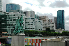 La Defence, Paris Royalty Free Stock Photography
