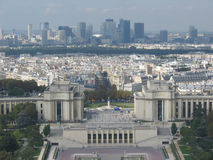 La Defense. Viewed from eiffel tower Paris France Royalty Free Stock Photography