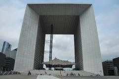 La Defense. Monument - Paris Stock Photography