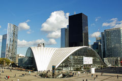 La Defense business district Royalty Free Stock Photos