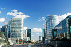La Defense business district Royalty Free Stock Images