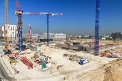 La Defense construction Stock Image