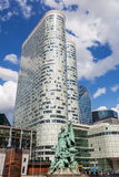 La Defense district in Paris Stock Photos