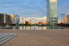 La Defense district, Paris Royalty Free Stock Photos