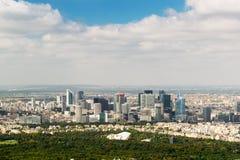 La Defense district in Paris Royalty Free Stock Image