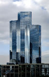 La Defense europe business center in Paris, France. Royalty Free Stock Photography