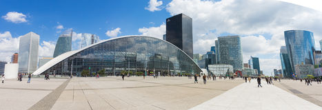 La Defense the major business district of the Paris, France Stock Photos