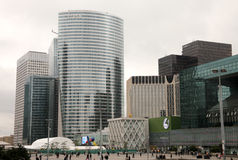 La Defense office buildings Royalty Free Stock Photography