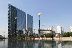 La Defense in Paris Royalty Free Stock Image
