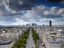 La Defense, Paris Royalty Free Stock Images