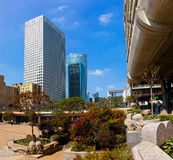 La Defense in Paris Royalty Free Stock Photo