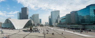 La Defense Paris Royalty Free Stock Photos