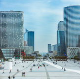 La Defense Paris Stock Image