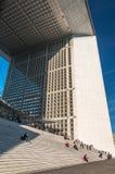 La Defense in Paris Stock Photography