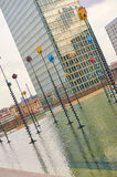 LA Defense Paris and business area and architecture Royalty Free Stock Images