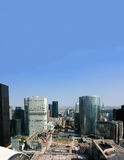 La Defense Paris Business Center Royalty Free Stock Photos