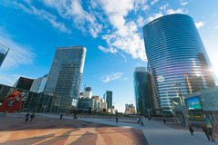 La Defense in Paris Royalty Free Stock Images