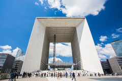 La Defense in Paris. France Stock Photo