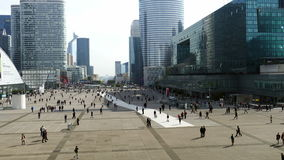 La Defense 4 stock video