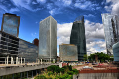 La Defense, Paris, HDR Stock Image