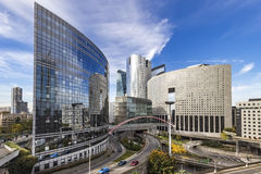 La Defense Paris Royalty Free Stock Photo
