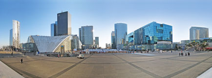 La Defense, Paris, Panorama Stock Photo
