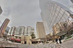 La Defense in Paris Royalty Free Stock Photo