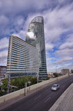 La Defense, Paris street Royalty Free Stock Image