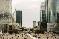 La Defense. The skyscrapers of the Defense business area in Paris, France Stock Photography