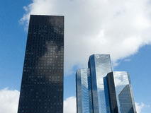 La Defense skyscrapers 8162, Paris, France, 2012 Stock Photo