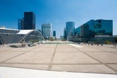 La Defense Square Cityscape H Royalty Free Stock Image