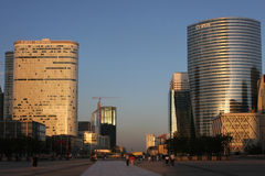 La Defense towers Stock Photo