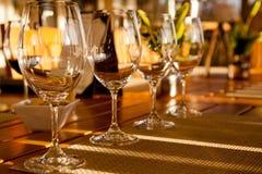 La degustación de vinos Imágenes de archivo libres de regalías