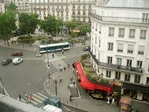 La della galleria del binoculars coin de fayette Francia l'alta ha funzionato sopra Parigi sulla vista Immagine Stock Libera da Diritti