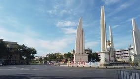 La democrazia del monumento a Bangkok, Tailandia archivi video