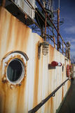 La demolición de pescados piratea a VIKING Ship en Indonesia Fotografía de archivo libre de regalías
