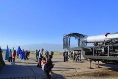 La demostración búlgara de la fuerza aérea esto es nosotros Imagenes de archivo