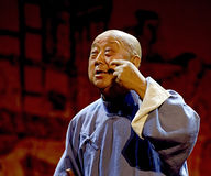 La demostración china de la música de Rap Imagenes de archivo