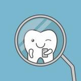 La dent mignonne fait le selfie Image libre de droits