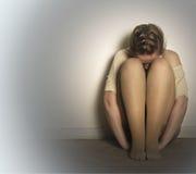 La depresión Imagen de archivo libre de regalías