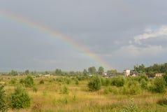 La derecha del arco iris Fotografía de archivo libre de regalías