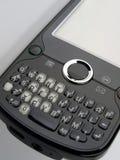 La derecha elegante de opinión de ángulo del telclado numérico del teléfono Imagen de archivo libre de regalías
