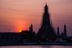 La destination de touriste de la Thaïlande la plus célèbre Image stock