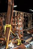 La destruction de l'incendie 06 images stock