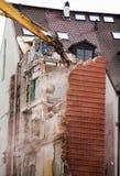 La destruction de la vieille maison Photos stock